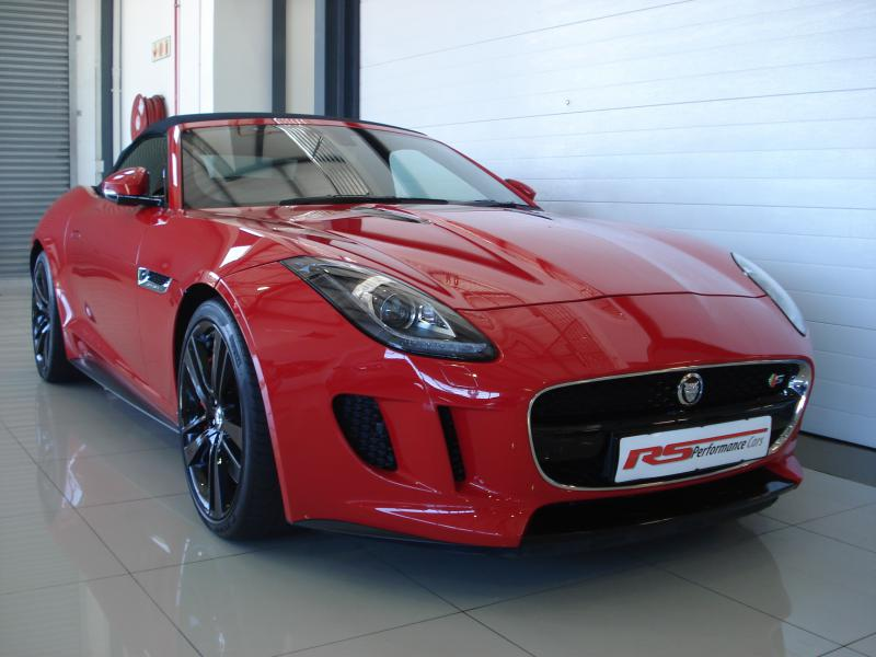 2013 Jaguar F-Type V8 S Convertible