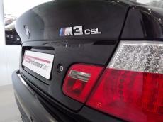 2004 BMW M3 CSL (E46) - CSL badge