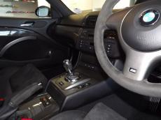 2004 BMW M3 CSL (E46) - Interior