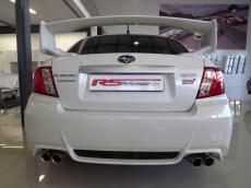 2011 Subaru WRX STI 4-door - Rear