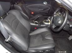2012 Nissan 370Z Coupe A/T + Nav - Seats