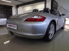 2008 Porsche Boxster (987) - Rear 3/4 b