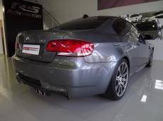 2010 BMW M3 Coupe M-DCT - Rear 3/4
