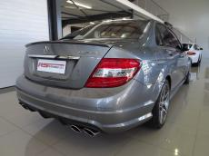 2008 Mercedes-Benz C63 AMG - Rear 3/4