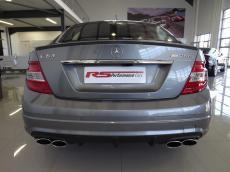 2008 Mercedes-Benz C63 AMG - Rear