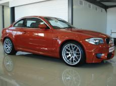 2011 BMW 1-Series M Coupe - Side