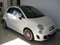 2013 Abarth 500 Convertible - Front 3/4