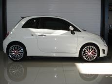 2013 Abarth 500 Convertible - Side