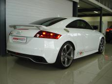 2010 Audi TT RS quattro Coupe - Rear 3/4