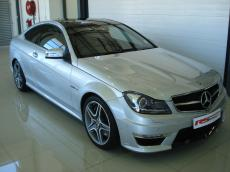 2011 Mercedes-Benz C63 AMG Coupe - Front 3/4