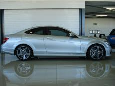 2011 Mercedes-Benz C63 AMG Coupe - Side