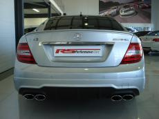 2011 Mercedes-Benz C63 AMG Coupe - Rear