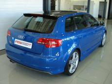 2010 Audi S3 Sportback - Rear 3/4