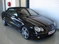 2007 Mercedes-Benz CLK63 AMG Cabriolet - Front 3/4