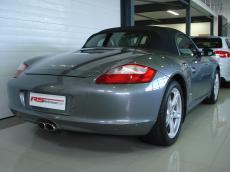2005 Porsche Boxster S (987) - Rear 3/4