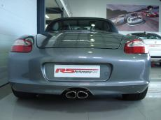 2005 Porsche Boxster S (987) - Rear