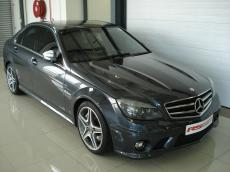 2008 Mercedes-Benz C63 AMG (Perf Pack) - Front 3/4