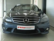 2008 Mercedes-Benz C63 AMG (Perf Pack) - Front