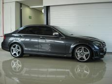 2008 Mercedes-Benz C63 AMG (Perf Pack) - Side