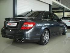 2008 Mercedes-Benz C63 AMG (Perf Pack) - Rear 3/4