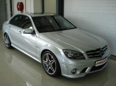 2011 Mercedes-Benz C63 AMG - Front 3/4
