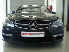 2012 Mercedes-Benz C63 AMG - Front