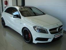 2014 Mercedes-Benz A45 AMG 4MATIC - Front 3/4