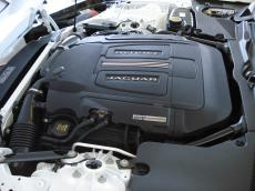 2014 Jaguar F-Type S Coupe - Engine