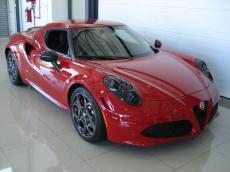 2014 Alfa Romeo 4C Launch Edition - Front 3/4