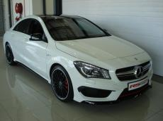 2014 Mercedes-Benz CLA45 AMG 4MATIC - Front 3/4