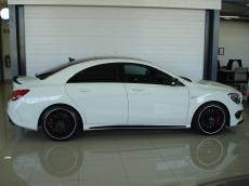 2014 Mercedes-Benz CLA45 AMG 4MATIC - Side