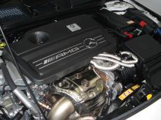 2014 Mercedes-Benz CLA45 AMG 4MATIC - Engine