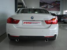 2015 BMW 435i Coupe M Sport A/T (F32) - Rear