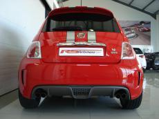 2012 Abarth 695 Tributo Ferrari - Rear