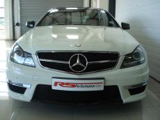 2011 Mercedes-Benz C63 AMG Coupe - Front