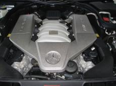 2011 Mercedes-Benz C63 AMG Coupe - Engine