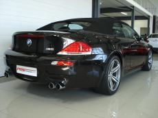 2009 BMW M6 Convertible (E64) - Rear 3/4