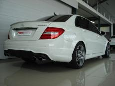 2012 Mercedes-Benz C63 AMG - Rear 3/4