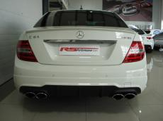 2012 Mercedes-Benz C63 AMG - Rear