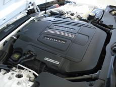 2014 Jaguar F-Type S 3.0 V6 Coupe - Engine