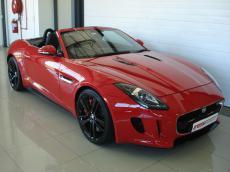 2013 Jaguar F-Type V8 S Convertible - Front 3/4