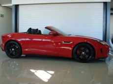 2013 Jaguar F-Type V8 S Convertible - Side