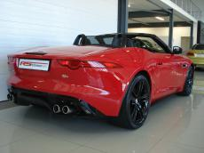 2013 Jaguar F-Type V8 S Convertible - Rear 3/4