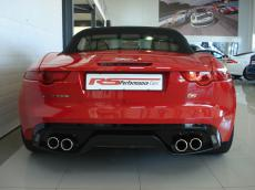 2013 Jaguar F-Type V8 S Convertible - Rear