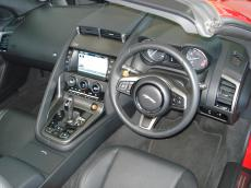 2013 Jaguar F-Type V8 S Convertible - Interior