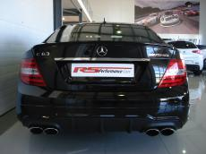 2014 Mercedes C63 AMG Edition 507 Coupe - Rear