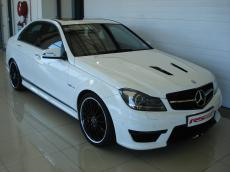 2013 Mercedes-Benz C63 AMG Perf Pack - Front 3/4