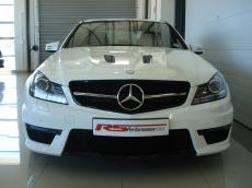 2013 Mercedes-Benz C63 AMG Perf Pack - Front