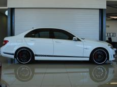 2013 Mercedes-Benz C63 AMG Perf Pack - Side