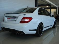 2013 Mercedes-Benz C63 AMG Perf Pack - Rear 3/4